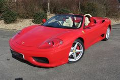 2004 Ferrari 360 Spider 6 Speed Manual 2 OWNERS 22,000 MILES, Petrol, Manual, Rosso Corsa, 22,286 miles at www.woldsideclassics.co.uk