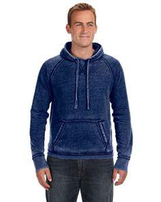 JA8915 J America Vintage Zen Fleece Pullover Hood