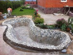 How to build a garden pond step by step guide water garden koi ponds backyard ecosystems by aquascape Backyard Pool Designs, Ponds Backyard, Backyard Landscaping, Outdoor Fish Ponds, Garden Ponds, Water Garden, Backyard Patio, Landscaping Ideas, Pond Design
