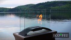 Eco-Feu Majestic Biofuel Fireplace Biofuel Fireplace, Ethanol Fireplace, Majestic Fireplace, Foyers, Portable Fireplace, Ethanol Fuel, Modern Luxury, A Table, Indoor