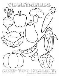 Top 10 Free Printable Vegetables Coloring Pages Online | Coloring ...