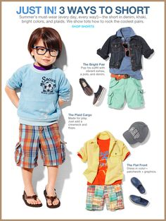 Noted: pastels for toddler boys at baby gap.