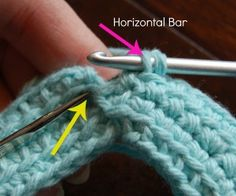 Linked Double Crochet Join Tutorial (linked dc join)