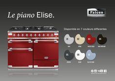 Le modèle Elise, disponible en bleu, blanc, rouge et bien d'autres couleurs...