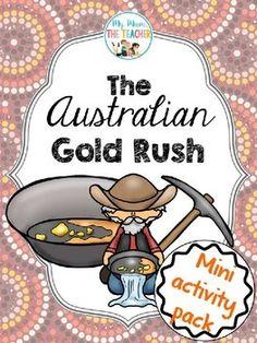 Childrens books gold rush australia
