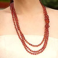 Sun Radiance from @NOVICA, They help #artisans succeed worldwide.  I have this new fascination with carnelian ....
