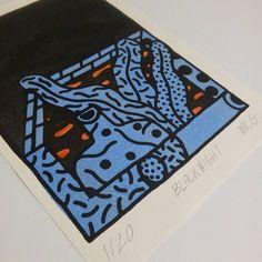 Black Night #risograph #risoprint #mriso #misterriso #mrg #mistergi #regalidautore #79rosso