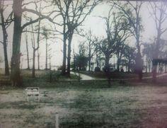 Graceland, when it was for sale, before Elvis bought it