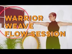 Warrior Weave Flow Session - Learn How to Hula Hoop | Hula Hoop Dance Videos and Tutorials | HOOPLOVERS.TV