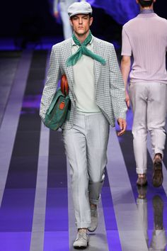 Canali Spring 2013 Menswear Collection Slideshow on Style.com
