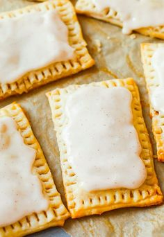 Homemade Frosted Brown Sugar Cinnamon Pop-Tart Recipe will start the morning off right. No boxed kind can compare to these toaster pastries