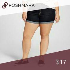 Ava & Viv midi shorts Denim shorts,  Midi style, Ava & Viv brand, 95% cotton, 3% polyester,  2% spandex Ava & Viv Shorts Jean Shorts