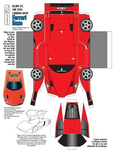 Car Papercraft Template