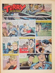 Terry and The Pirates by Wunder Full Tab Color Sunday Comic July 28 1968 | eBay