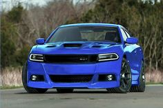 B5 Blue Dodge Charger Hellcat