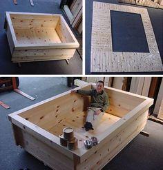 My size soaking tub! – Mb – My size soaking tub! My size soaking tub! -… My size soaking tub! – Mb – My size soaking tub! My size soaking tub! Japanese Bathtub, Japanese Soaking Tubs, Deep Soaking Tub, Wood Tub, Wood Bathtub, Bathtub Ideas, Pallet Patio Furniture, Furniture Projects, Tub Shower Combo