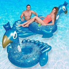 Bestway Pretty Peacock Ride-On Float for Swimming Pools Swimming Gear, Diy Swimming Pool, Cool Pool Floats, American Sales, Pool Toys, Water Toys, Pvc Vinyl, Cool Pools, Pool Houses