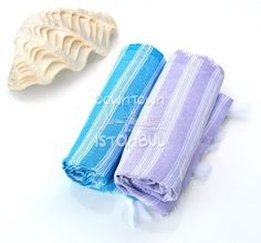 Swim Cover Up Set of 2 Turkish Bath Towel  by DowntownIstanbul, $21.99