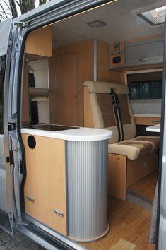 Fiat Ducato - camper inside