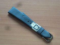 Uhrenarmband braun echtes Leder 18 mm unbenutzt RIOS