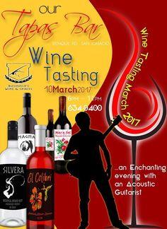 Our Tapas Bar Wine Tasting