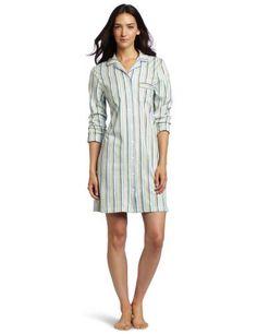 HUE Women's Chalk Stripe Boyfriend Sleep Shirt HUE, http://www.amazon.com/dp/B0070TYT74/ref=cm_sw_r_pi_dp_8AhBqb0BX7CR1 $28.99- I like this style.