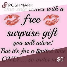 All 3+ BUNDLES 20% off and come with a free gift! Many of you that have ordered know we LOVE to send free surprise gifts with any purchase! Now with bundles of 3 or more items, you will receive free gift! Other