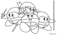 Kirby Characters Coloring Pages 2 By Sarah Coloring Pages Coloring Pages For Kids Animal Coloring Pages