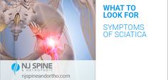 Do you know the symptoms of #sciatica?   -Constant nerve pain — on one side of the buttock or leg -Numbness in the leg, feet and or toes -The feeling one foot is hard to move, almost like you're dragging it  These are just a sample of the symptoms of sciatica and if this sounds like you or someone you know — read the rest of the blog and learn more about this common condition.