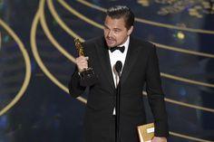 #Oscars   O discurso histórico e marcante de Leonardo DiCaprio – assista na íntegra - Blue Bus
