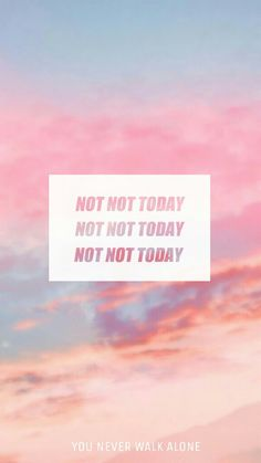 BTS || NotToday || Lyrics || Wallpaper ℓιкє тнιѕ ρι¢? fσℓℓσω мє fσя мσяє @αмутяαи444 ʕ•ᴥ•ʔ