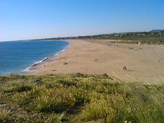 Playa Zahora, desde el faro de trafalgar.