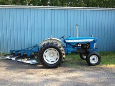 FORD 5000 & FORD 4 Bottom Plow