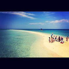 Bongan Sandbar, Bohol, Philippines (Photo by Vera Venus) pretty! Bohol Philippines, Philippines Beaches, Travel Around The World, Around The Worlds, Mindanao, Next Holiday, Tourist Spots, Adventure Is Out There, Beautiful Beaches
