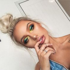 makeup 💚 #modaparameninas
