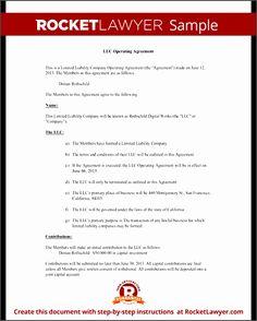 9 Texas Llc Operating Agreement Template Ideas Agreement Limited Liability Company Llc