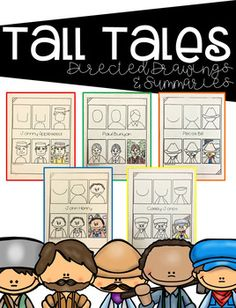 Melonheadz tall tales bundle my illustrations melonheadz tall tales directed drawings ckla core knowledge fandeluxe Choice Image
