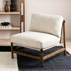 Small Accent Chairs, Accent Chairs For Living Room, Comfortable Accent Chairs, Modern Accent Chairs, White Accent Chair, Modern Chairs, Metal Frame Chair, Chair And A Half, Bedroom Chair