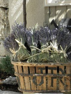 French Country Home | French Country Life. Lavender says French country.