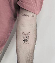 Small Dog Tattoos, Inspiration Tattoos, Print Tattoos, Tatting, Ink, Artwork, Instagram, Color Tattoo, Best Tattoos