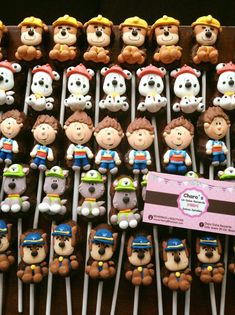 Paw Patrol Party, Chocolate, Bakery, Cake Pops, Teddy Bear, Sweets, Cookies, Celebrations, Crafts
