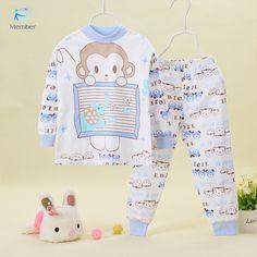 pijamas kids Combed cotton children's underwear pajamas for boys pyjamas kids pijama infantil kids children's pajamas girls 20#