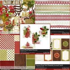 christmas scrapbook layouts - Google Search