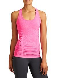Fastest Track Tank - Your favorite, go-to training tank for high-intensity sweat sessions has our best technologies: Unstinkable, and chafe-free seamless fabric. Yoga Fashion, Fitness Fashion, Gym Tank Tops, Athletic Tank Tops, Workout Tops For Women, Black Leotard, Teaching Outfits, Teaching Clothes, Workout Wear