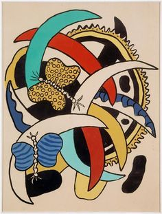 Butterflies (Still Life with Butterflies), 1948, Fernand Léger Size: 50x65 in