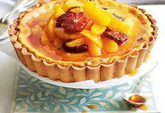Orangen-Ricotta-Tarte