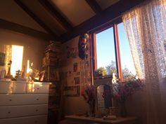 don't think I'll ever get sick of the way the light hits my room at sundown