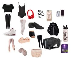 """""""Basic things you need for dance class"""" by rihana460 on Polyvore featuring adidas, WithChic, Topshop, NIKE, Aéropostale, Ballet Beautiful, Bloch, Casetify, Beats by Dr. Dre and Chic Buds"""