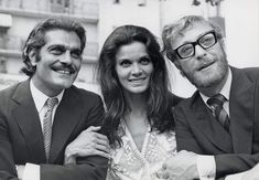 Michael Caine, Omar Sharif, and Florinda Bolkan at an event for The Last Valley (1971) http://www.movpins.com/dHQwMDY1OTY5/the-last-valley-(1971)/still-481040640