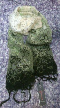 This original scarf is made of Yaga fabric.